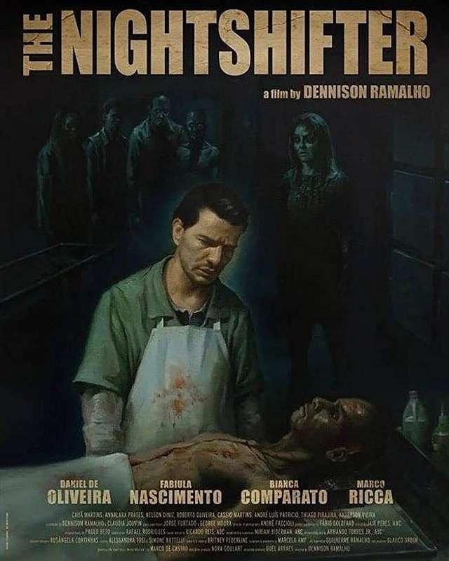 竊竊屍語_The Night Shifter_電影海報