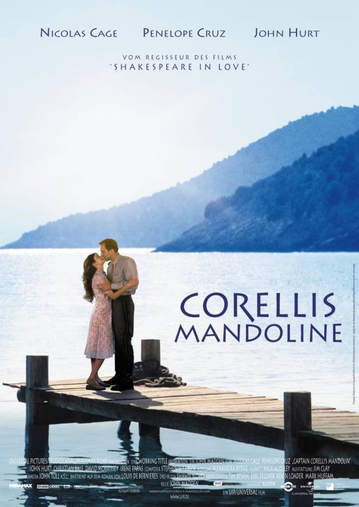 戰地情人_Captain Corelli's Mandolin_電影海報