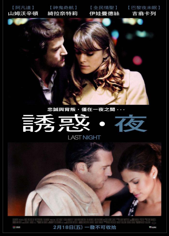 誘惑‧夜_Last Night (2010)_電影海報