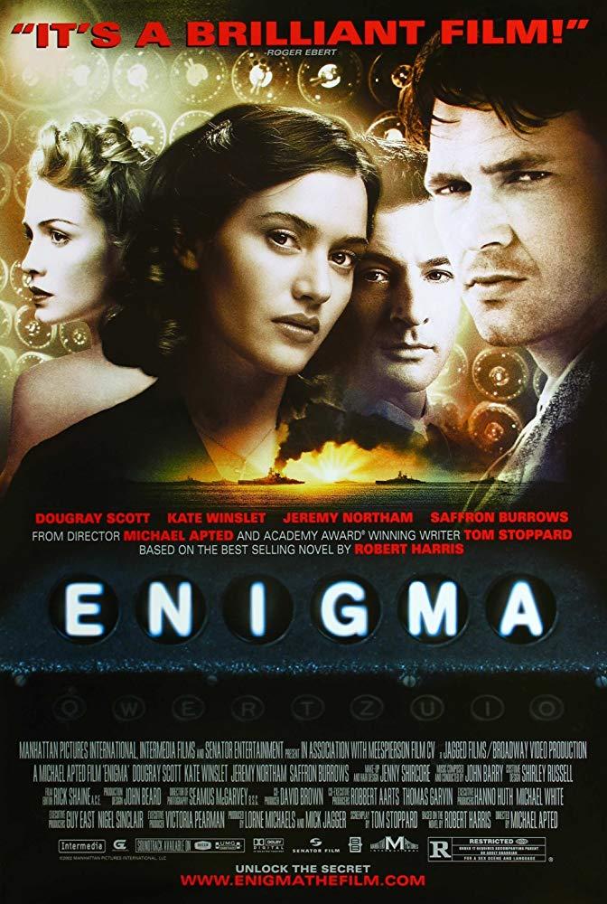 攔截密碼戰_Enigma (2001DE)_電影海報