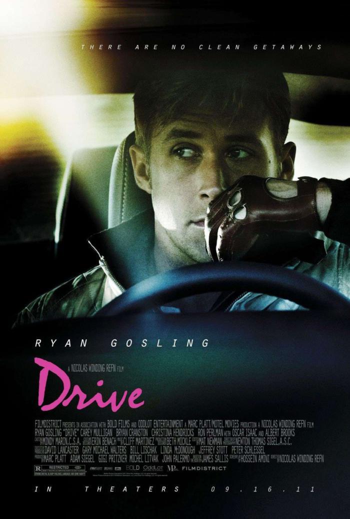 落日車神_Drive (2011)_電影海報