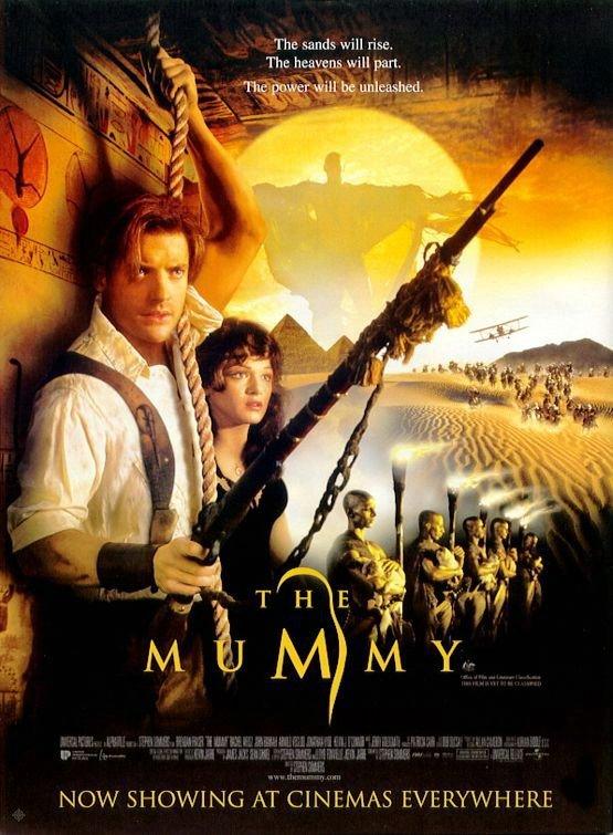 神鬼傳奇(1999)_The Mummy(1999)_電影海報