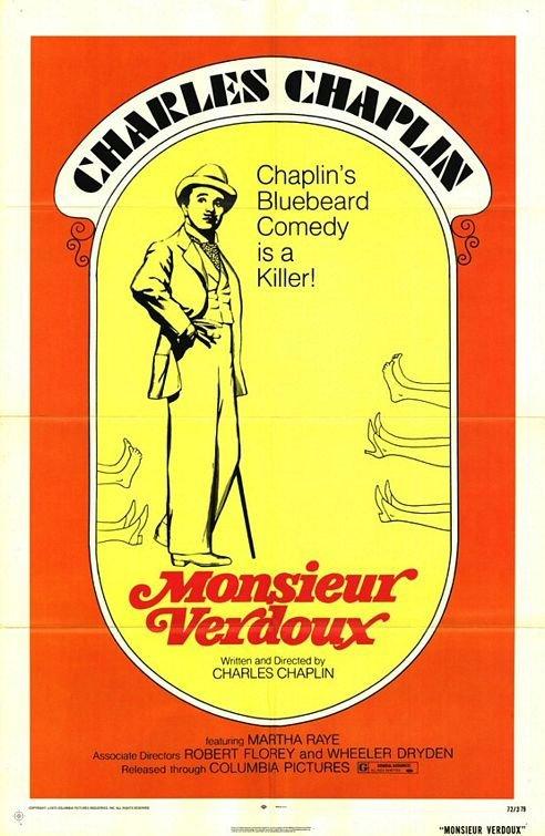 維杜先生_Monsieur Verdoux_電影海報