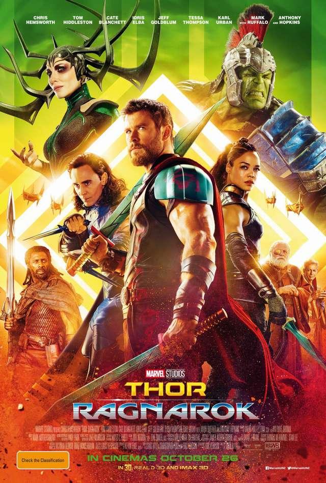 雷神索爾3:諸神黃昏_Thor: Ragnarok_電影海報