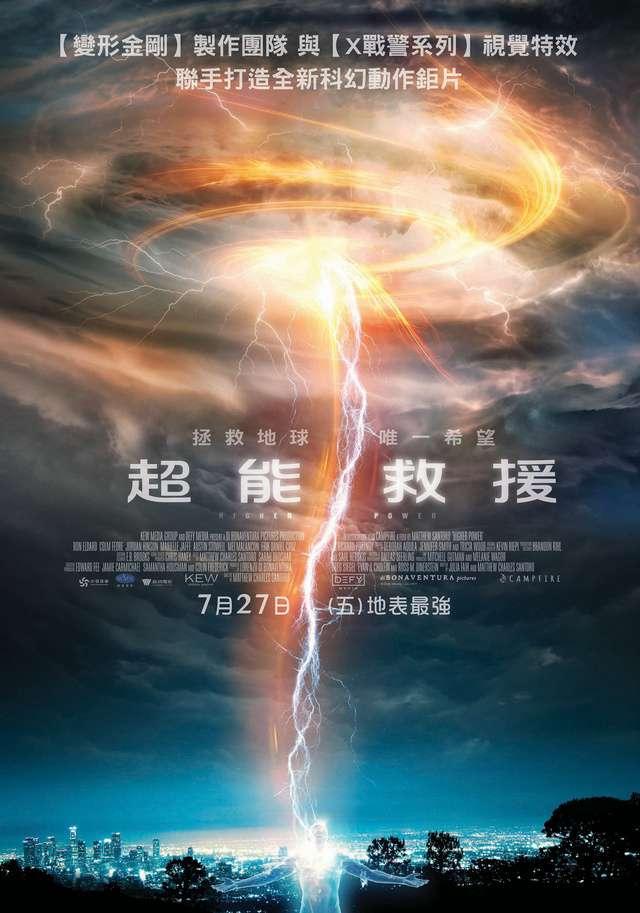超能救援_Higher Power_電影海報