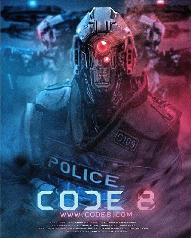 8級警戒_Code 8_電影海報