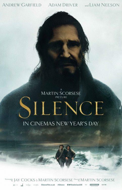 沉默_Silence_電影海報