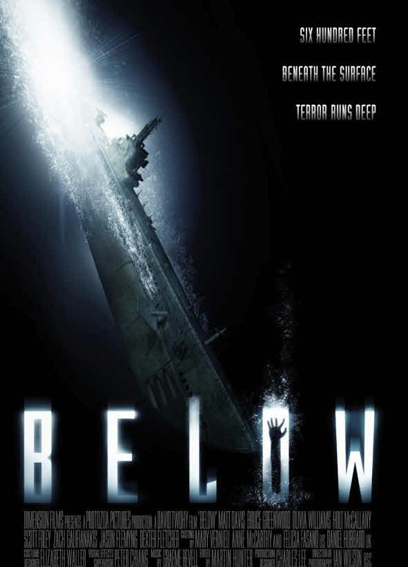 鬼潛艇_Below_電影海報