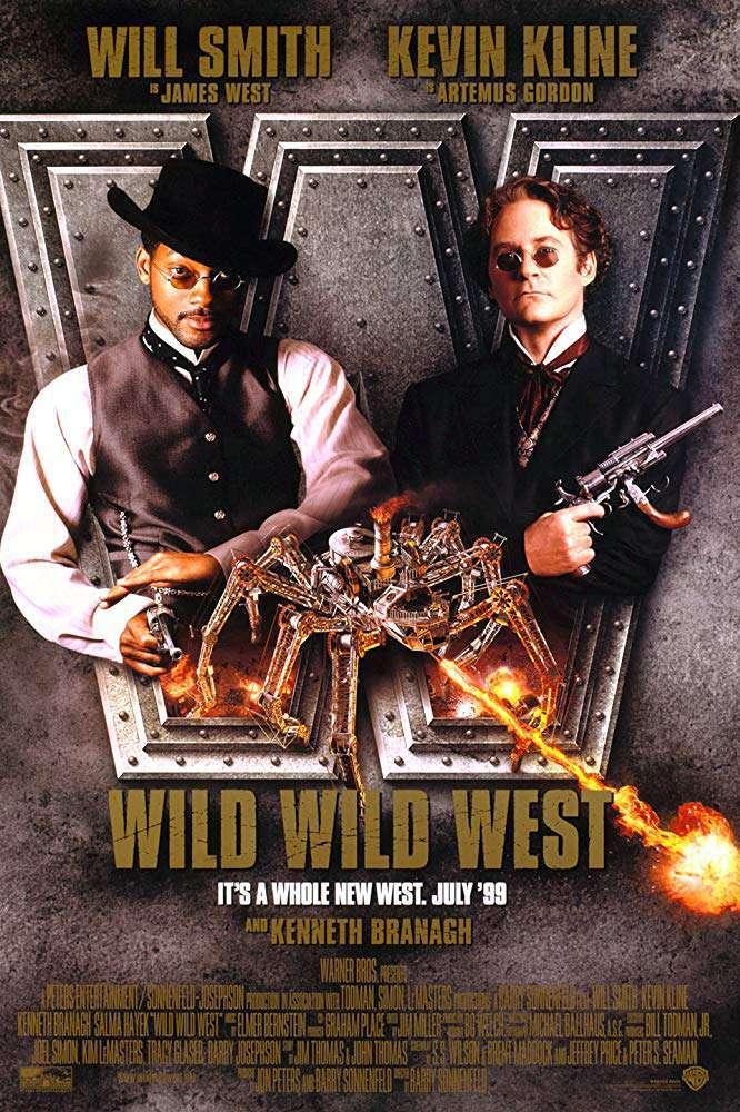 飆風戰警_Wild Wild West_電影海報