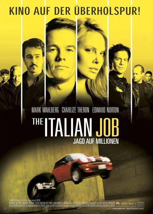 偷天換日_Italian Job_電影海報