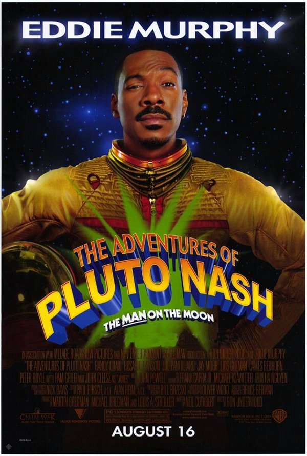 星際冒險王_The Adventures of Pluto Nash_電影海報