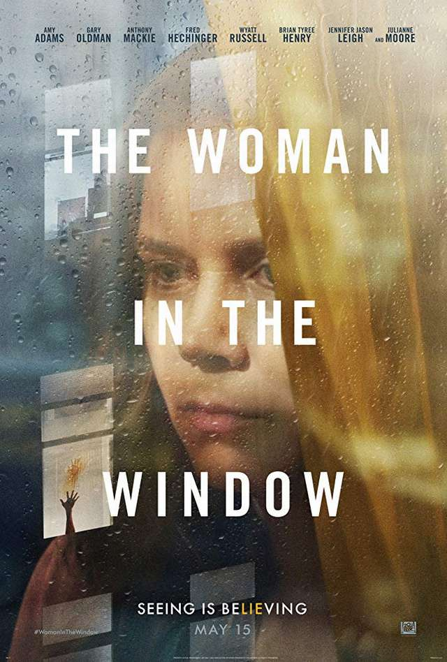 窺探_The Woman in the Window_電影海報