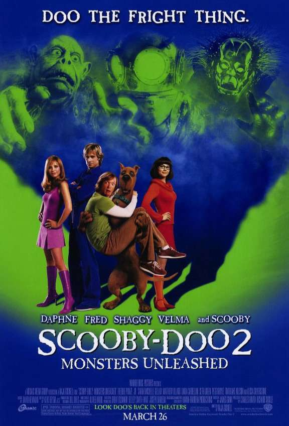 史酷比2:怪獸偷跑_Scooby-Doo 2: Monsters Unleashed_電影海報