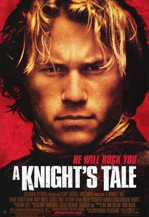 騎士風雲錄_A Knight's Tale_電影海報
