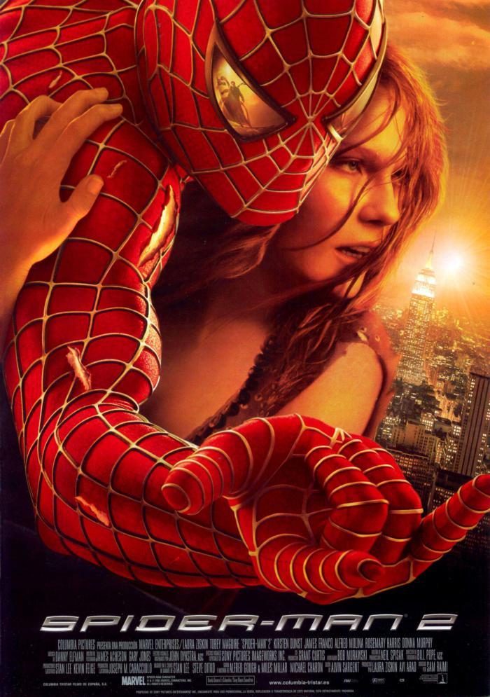 蜘蛛人2_Spider-Man II_電影海報