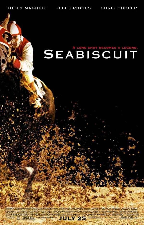 奔騰年代_Seabiscuit_電影海報