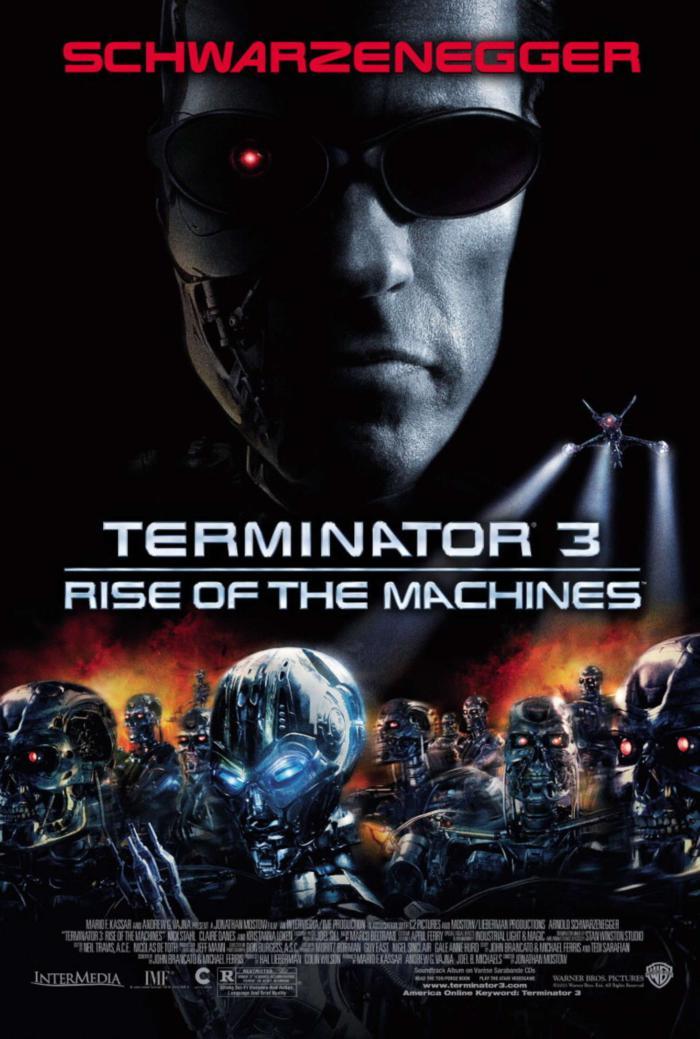 魔鬼終結者3_Terminator 3: Rise of the Machines_電影海報
