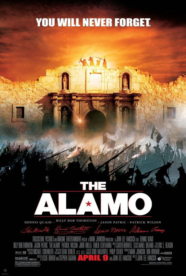 圍城13天:阿拉莫戰役_The Alamo (2004)_電影海報