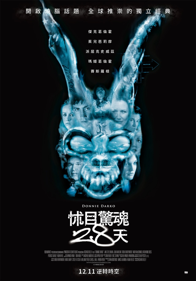 怵目驚魂28天_Donnie Darko_電影海報