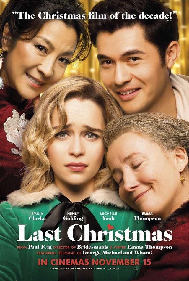 去年聖誕節_Last Christmas_電影海報