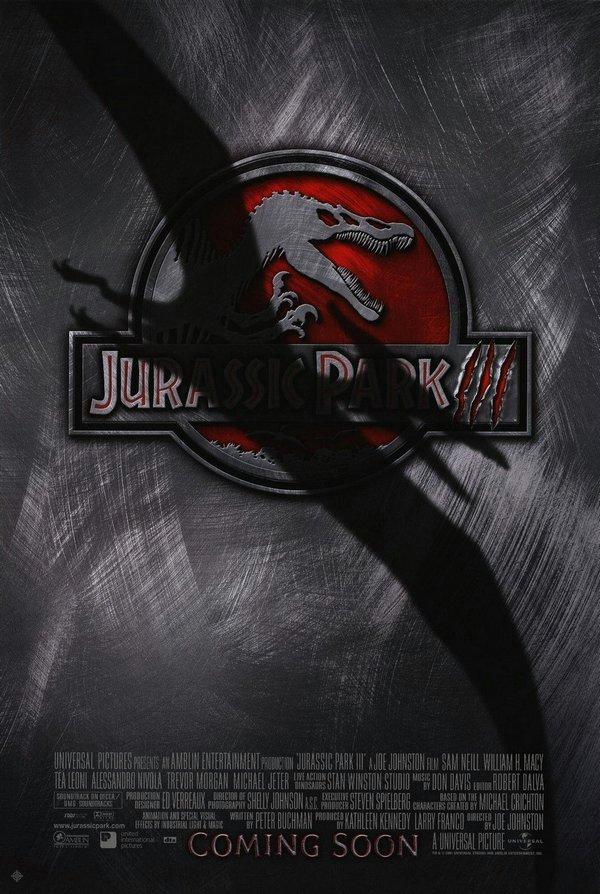侏羅紀公園3_Jurassic Park III_電影海報