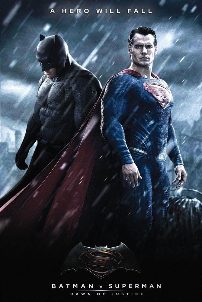 蝙蝠俠對超人:正義曙光_BATMAN V SUPERMAN: DAWN OF JUSTICE_電影海報