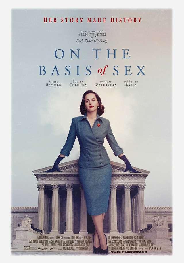 法律女王_On The Basis of Sex_電影海報