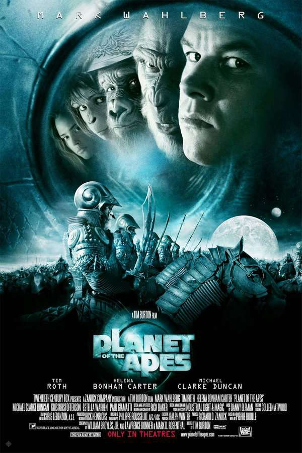 決戰猩球_Planet of The Apes (2001)_電影海報