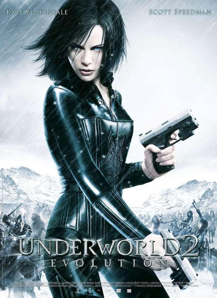 決戰異世界:進化時代_Underworld : Evolution_電影海報
